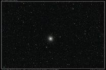 Kulová hvězdokupa M13 v souhvězdí Herkula. Autor: Jan Hovad
