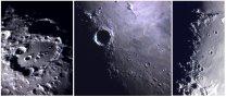 Měsíční krátery v detailech Autor: Luděk Hamr