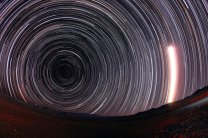 Star trails Autor: Pavel Pech