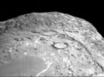 Krajina na kometě Tempel 1
