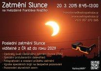 Pozorování zatmění Slunce 20. března 2015 v Karlových Varech. Autor: Hvězdárna Karlovy vary