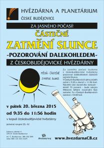 Zatmění Slunce České Budějovice