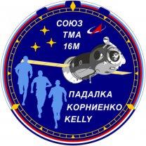 Mise Sojuz TMA 16M - plaketa. Autor: Sojuz
