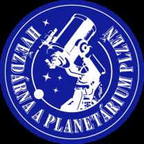 Hvězdárna a planetárium Plzeň - logo. Autor: HaP Plzeň.
