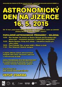 Astronomický den na Jizerce Autor: Jizerská oblast tmavé oblohy