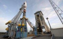 Raketa Sojuz u rampy Korou. Autor: ESA.