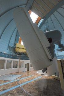 Teleskop na observatoři Shamakhi. Autor: Zdeněk Bardon