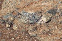Granitické vyvřeliny na Marsu v kráteru Gale Autor: NASA/JPL-Caltech/MSSS