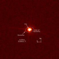 Trpasličí planeta Eris na snímku z HST Autor: NASA/ESA/M. Brown