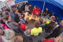 Stánek při Noci vědců 2015 v Tachově Autor: Západočeská pobočka ČAS