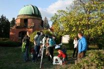Pozorování k Noci vědců 2015  Ondřejově