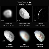 Měsíc Nix na snímcích New Horizons Autor: NASA/JHUAPL/SWRI