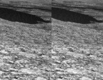 Sol 1168 Dune 1. Případný stereopohled odhalí obří velikost duny Autor: NASA/JPL-Caltech/MSSS