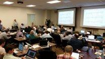 Pohled na setkání 28. až 29. 10. 2015, kde se posuzoval návrh Mastcam-Z Autor: Jim Bell