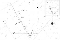 Polohy komety C/2013 US10 (Catalina) v prosinci 2015