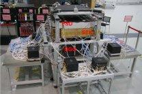 Přístroje připravené k montáži na družici DAMPE Autor: CAS/INFN