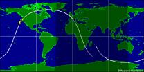 Dráha družice Jason-3 Autor: Heavens-Above.com