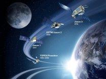 Vývojová řada oceánografických družic Autor: Spaceflight101.com