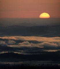 Východ Slunce s Venuší 6. 6. 2012 Autor: Martin Gembec
