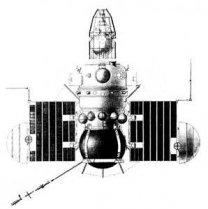 Veněra-Mars, 2MV-1 Autor: Gunter's Space Page