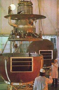 Veněra 13 – přistávací sféra a modul Autor: Don P. Mitchell