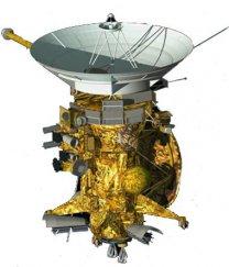 Sonda Cassini s modulem Huygens (v zadní části) Autor: CNES