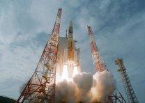 Raketa H-IIA s Akatsuki a Ikarem Autor: JAXA