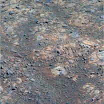 Červené zóny v horninách Marathon Valley na Marsu Autor: NASA/JPL-Caltech/Cornell/ASU