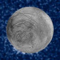 Pravděpodobné gejzíry na měsíci Europa z HST Autor: NASA/ESA/W. Sparks (STScI)/USGS Astrogeology Science Center