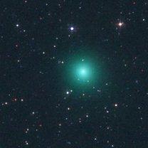 Snímek komety C/2016 U1 (NEOWISE) od Michaela Jägera Autor: Michael Jäger