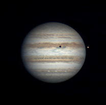 Jupiter a Io 10.5.2016 Autor: Pavel Prokop