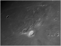Aristarchus a údolí Vallis Schröteri 23.12.2015 Autor: Pavel Prokop