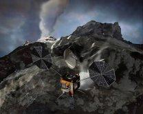Umělecká představa sondy Comet Surface Sample Return Autor: NASA JPL/Caltech, kreslil: Corby Waste