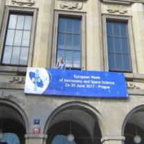 Průčeli budovy Právnické fakulty (PF UK) v červnu 2017 Autor: Jiří Grygar