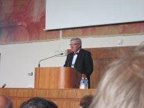 Jan Palouš (předseda vědeckého organizačního komitétu EWASS) Autor: Jiří Grygar
