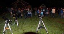 Pozorování oblohy při akci Astrovlak Autor: Hvězdárna Jindřichův Hradec