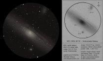 Kresba galaxie v Andromedě Autor: Michael Vlasov