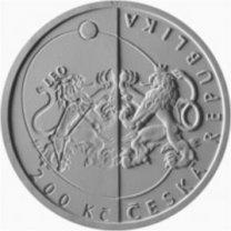 Pamětní mince ČNB k příležitosti 100. výročí České astronomické společnosti - líc Autor: Martin Černický