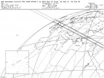 Zákryt hvězdy planetkou Dynamene, mapka pro Evropu Autor: IOTA