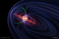 Magnetosféra v okolí obří plynné planety Jupiter Autor: NASA/CXC/M.Weiss