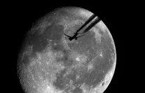 Měsíc  a letoun Autor: Jiří Spilka