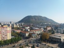 Pohled na Piatra Neamt z hotelu Autor: Jan Kožuško
