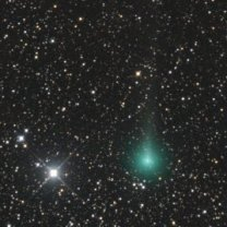 Kometa C/2019 Y1 (ATLAS) 15. 4. 2020 Autor: Martin Gembec