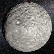 Ceres je největším objektem hlavního pásu asteroidů mezi Marsem a Jupiterem Autor: NASA