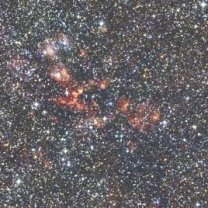 Hvězdotvorná oblast W51 dokonale skrytá za množstvím hvězd a prachu v Mléčné dráze Autor: NASA/JPL-Caltech/2MASS