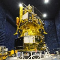 Sonda Chang'e 5 při testech na Zemi Autor: CNSA