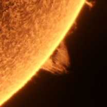 Slunce Protuberance Autor: Pavel Prokop