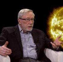 RNDr. Petr Heinzel vypráví o Slunci v pořadu Hlubinami vesmíru Autor: TV Noe