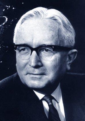 Portrét Zdeňka Kopala (1914-1993). Autor: Česká astronomická společnost