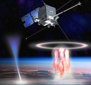 Družice TARANIS určená k výzkumu záhadných světelných úkazů ve vysoké atmosféře Autor: French Space Agency (CNES)